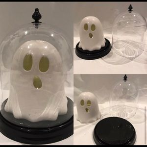 Ceramic Light up Ghost and Vase Display Bundle